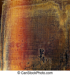 Old abstract texture used as shabby grungy background With...