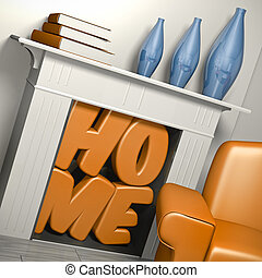 home sweet home  - fondness for living concept