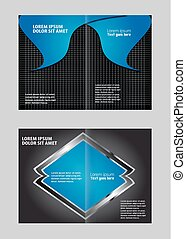 Abstract design background Brochure template
