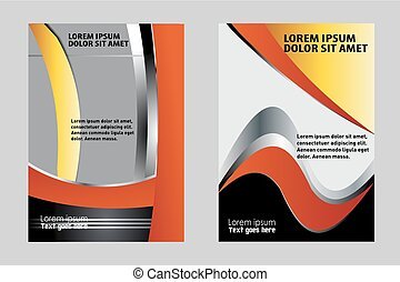 Vector design flyer background