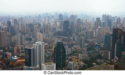 "Bangkok's City Center from Above - ""Bangkok's city center,..."