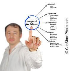 diagram of Integrated Due Diligence