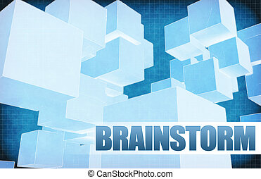 Brainstorm on Futuristic Abstract