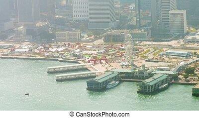 Ferry Passenger Terminal and Amusement Park in Hong Kong -...