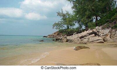 The coast of Andaman Sea Thailand - The coast of the Andaman...