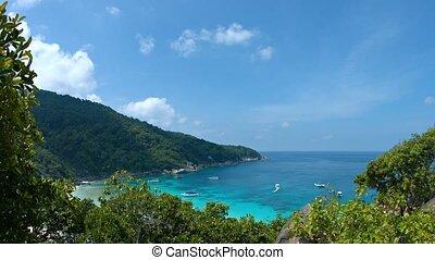 Beautiful sea bay Thailand, Similan Islands - Beautiful sea...