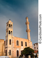 St Nicholas Church in Chania city, Crete, Greece