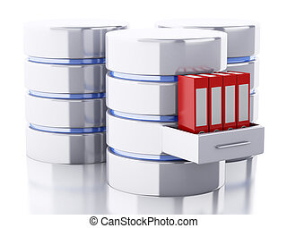 3d Data storage with folders