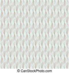 seamless pattern with spikelet wheat