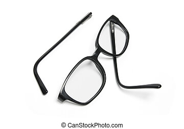 Broken Eyeglasses