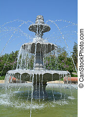Fancy Multilevel Fountain - Fancy multilevel fountain...