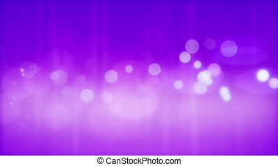 Abstract glowing circles on a purple background.
