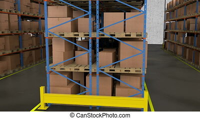 commercial building for storage - A warehouse is a...