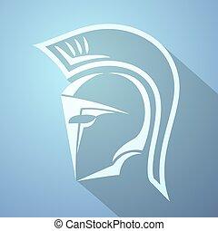 nice spartan symbol