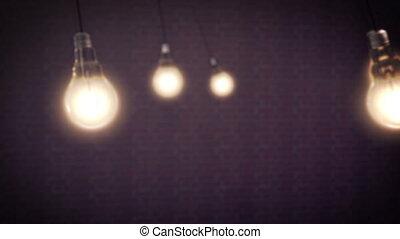 Light Bulbs Animation