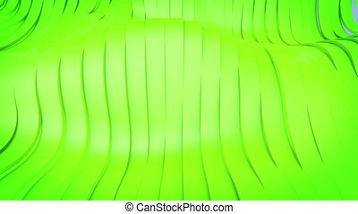 quot;Wavy band surface animationquot; - Wavy band surface...