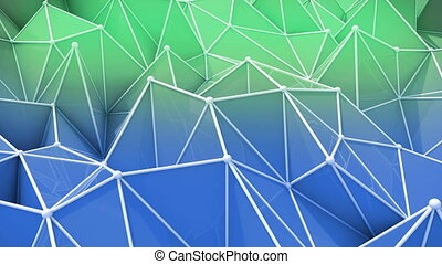 """abstract seamless triangular background animation"" -..."