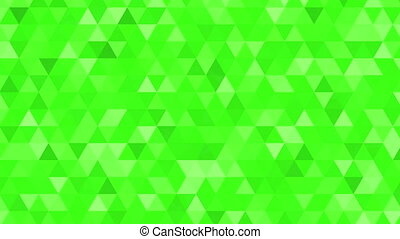 quot;Abstract animation with flashing triangle quot; -...