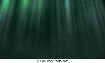 quot;Abstract aqua light ray wall backgroundquot; -...