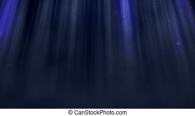 """Abstract blue light ray wall background."" - ""Animation of..."