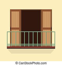 Balcony stock photo images 72 518 balcony royalty free for Balcony clipart