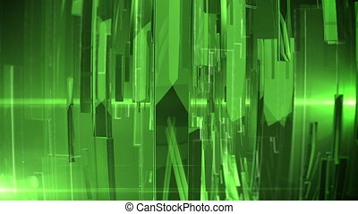 Abstract Technology Background with lens flare. Depth of...