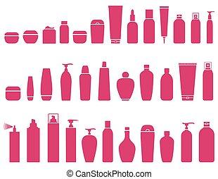 beauty cosmetic bottle set