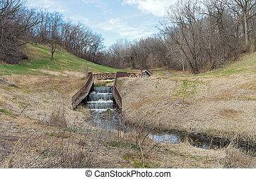 Dams and Bridge in Battle Creek - battle creek regional park...