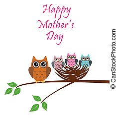 owl nest mother's day