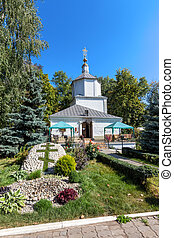 Ancient monastery church of the Assumption. Lipetsk. Russia