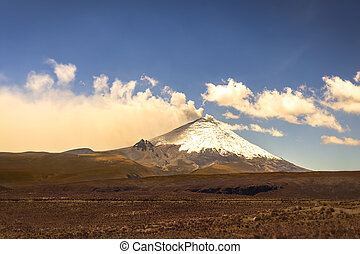 Cotopaxi Volcano, Part Of The Chain Of Volcanoes - Cotopaxi...