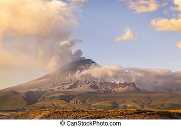 Cotopaxi Powerful Day Explosion - Cotopaxi Volcano Powerful...