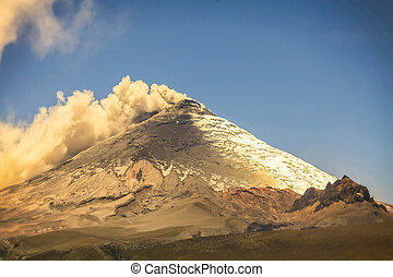 Cotopaxi Volcano, Day Explosion - Cotopaxi Volcano Is Worlds...
