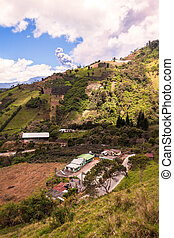 Ash And Gas Is Spreading From Tungurahua Volcano - Ash And...