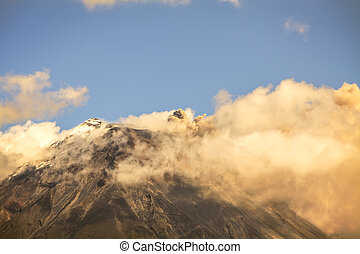 Ash And Steam From The Tungurahua Volcano - Plume Of Ash And...
