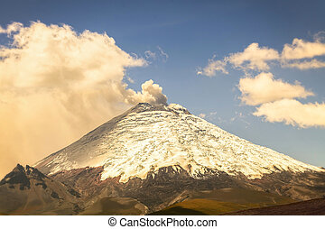 Cotopaxi Volcano Day Eruption - Cotopaxi Volcano Day...
