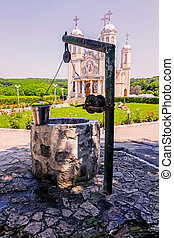 Fountain Of Stone - Fountain Of Stone In The Court Of...