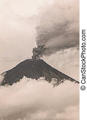 Tungurahua Volcano Spews Molten Rocks - Tungurahua Volcano...
