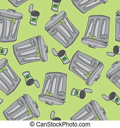 garbage pattern - garbage seamless pattern