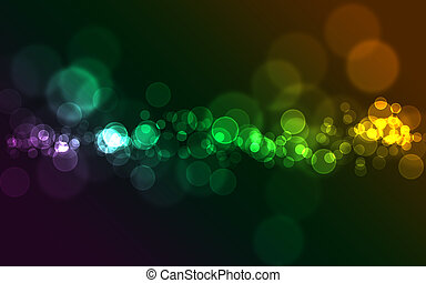 Colorful bokeh - Bright colorful abstract bokeh circles for...