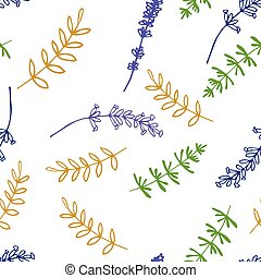 Lavender Seamless pattern - Lavender Seamless pattern on the...