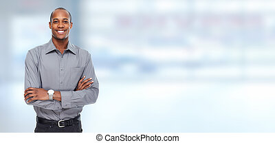 African American businessman - African American Business man...