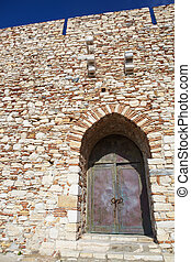 Pigeon Island fortress - Main entry of the Pigeon Island...