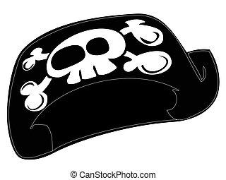 Pirate hat.