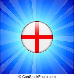 England Flag Icon on Internet Button