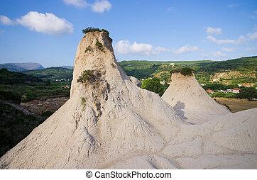 Greek Cappadocia near Potamida village, Crete