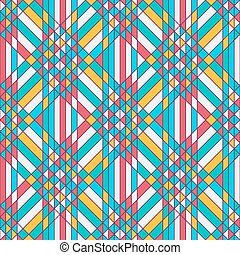 Abstract background with triangles tessellation - Abstract...
