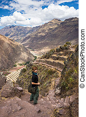 Exploring Inca Trails and Terraces of Pisac, Peru - Tourist...