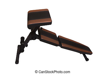 sport bench - Collapsible bench for physical exercises on...
