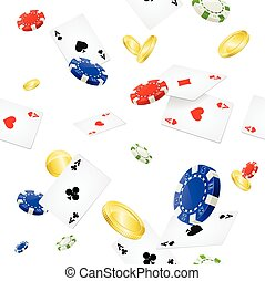 Casino Background Seamless. Vector - Casino Background...